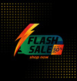summer flash sale banner template design special vector image vector image