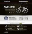 web design website element template a design vector image vector image