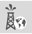 world oil industry consumption oil tower vector image