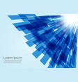 abstract technology lines background eps 10 vector image vector image