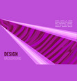 bright violet horizontal abstract background a vector image vector image