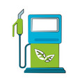 eco fuel dispenser vector image