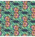 Modern floral seamless pattern with flowers and vector image