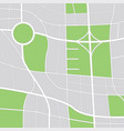 abstract city map zoom out view vector image vector image