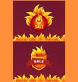 best offer hot sale badge promo offer burning fire vector image vector image