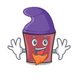 elf hot chocolate character cartoon vector image vector image