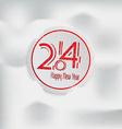 happy new year 3 vector image vector image