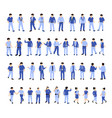 isometric people urban vector image