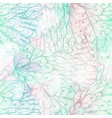 seamless floral grunge blue and pink pattern vector image vector image