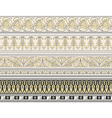 Set of four decorative borders vector | Price: 1 Credit (USD $1)