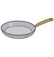 Steel pan vector image vector image