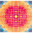 Geometric backdrop of geometric shapes Colorful vector image vector image