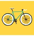 Hand drawn bicycle vector image vector image