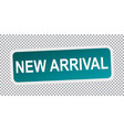 new arrival flat vector image vector image