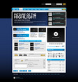 web design website element template button vector image vector image
