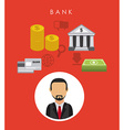 bank design vector image vector image