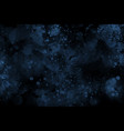 dark blue watercolor abstract background vector image