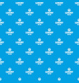 jewelry diamond pattern seamless blue vector image vector image