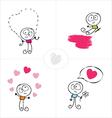 love boy vector image