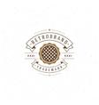 Bakery Shop Logo Template Design Element vector image vector image