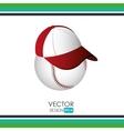 baseball icon design vector image vector image