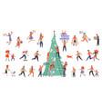 bundle for christmas sale vector image vector image