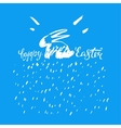 Easter Bunny Lettering 05 A vector image