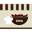 Food design over white background vector image vector image