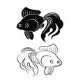goldfish vector image vector image