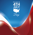 Independence day design vector image vector image