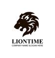 Lion head icon symbol logo Design Element vector image vector image
