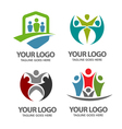 people community vector image vector image
