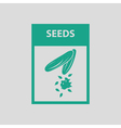 Seed pack icon vector image vector image