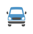 vehicle flat icon vector image vector image