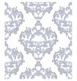 Vintage Baroque Floral ornament damask pattern vector image vector image