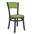 Color chair vector image vector image