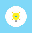 light bulb icon sign symbol vector image