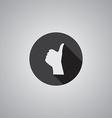 Like symbol flat vector image