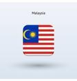 Malaysia flag icon vector image