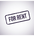 for rent vector image
