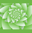 abstract green floral background optical vector image vector image