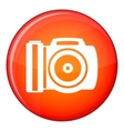 Camera icon flat style vector image vector image