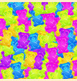 colorful gummy bears candies background sweets vector image vector image