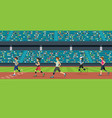 disabled athletics vector image