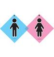 men and women icon vector image vector image