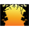 Nature Tree Silhouette vector image vector image