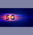 new 5g technology wireless internet eifi vector image vector image