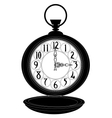 Pocket watch vector image vector image
