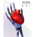 Polygonal modern elements vector image vector image
