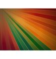rainbow corrugated cardboard background vector image vector image